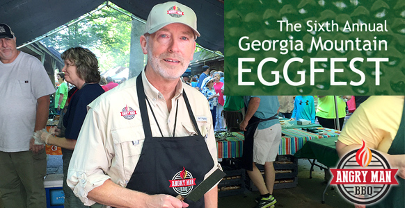 North Georgia Eggers booth at the Georgia Mountain Eggfest.