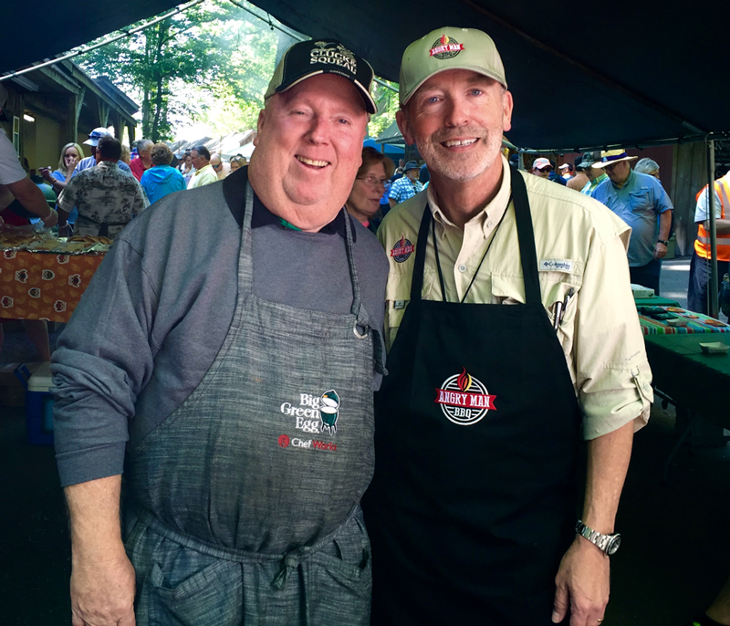 The Georgia Mountain Eggfest at Hiawassee with Kim Youngblood.