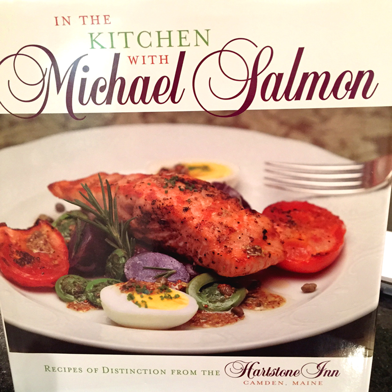 One of Chef Michael's books.