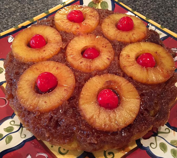 Glenn's Pineapple Upside-down Cake