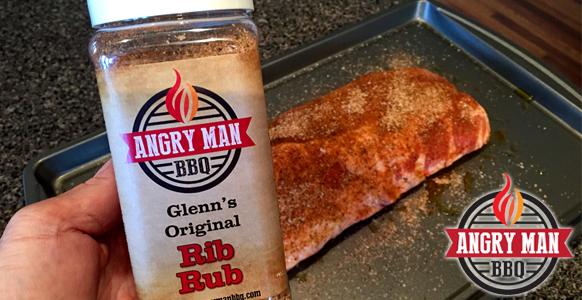 Glenn's Original Rib Rub - Baby Back Ribs - Angry Man BBQ