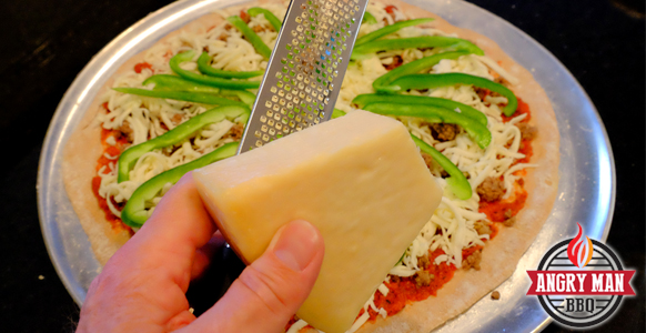 Oh my, don't forget the fresh grated Parmesan cheese!
