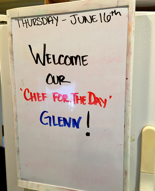 "Hartstone Inn - Glenn Martin, ""Chef For The Day"""