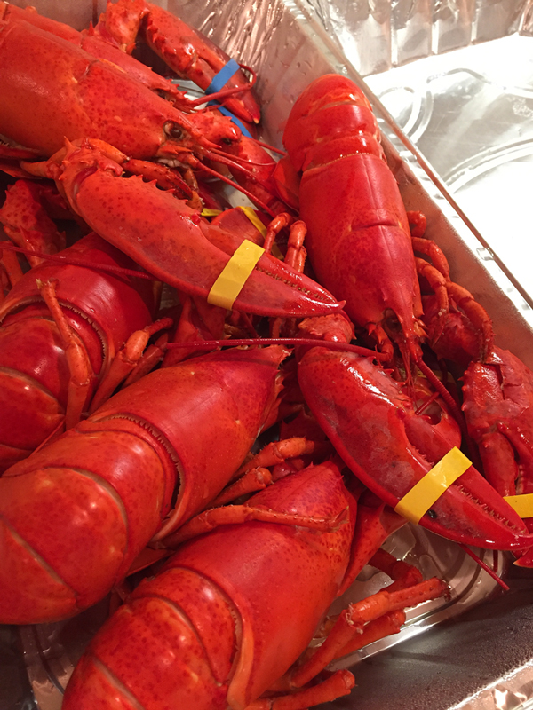 Oh my - lobster alert!!! A great NYE tradition.