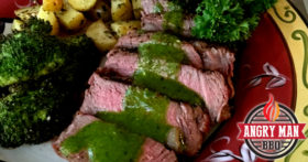 Sous Vide Filet Mignon With Chimichurri